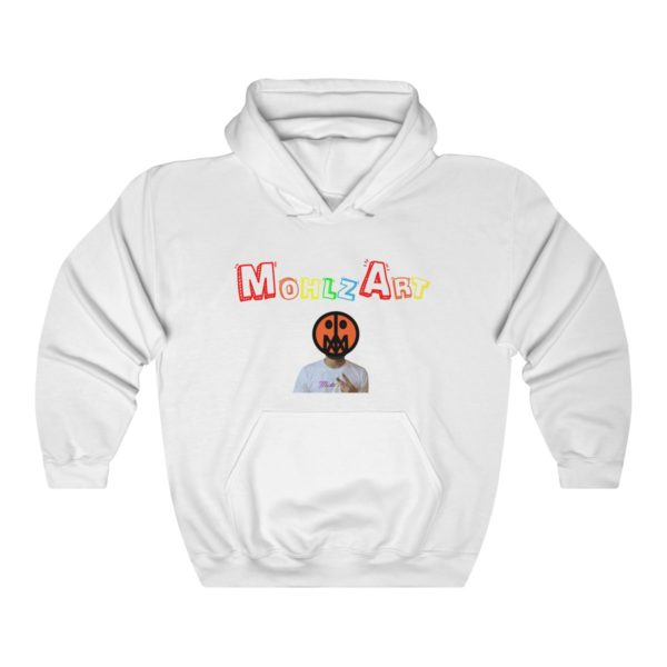 Mohlz Art Hooded Sweatshirt 3