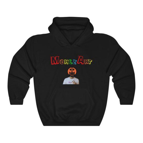 Mohlz Art Hooded Sweatshirt 5