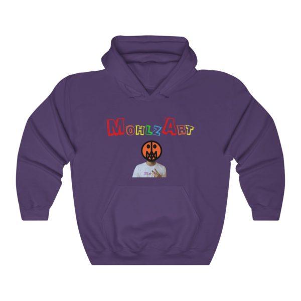 Mohlz Art Hooded Sweatshirt 1