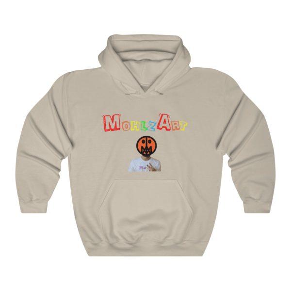 Mohlz Art Hooded Sweatshirt 7