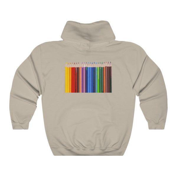 Mohlz Art Hooded Sweatshirt 8