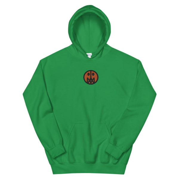 Orange MSTR Face (Embroidered Stitched)  Hoodie 8