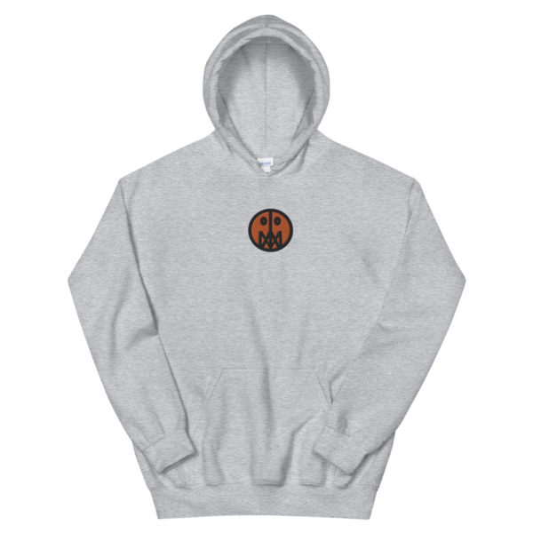 Orange MSTR Face (Embroidered Stitched)  Hoodie 7