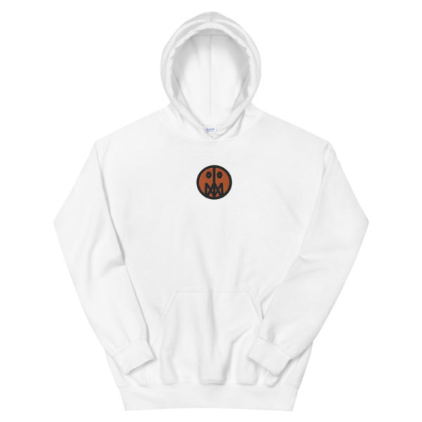Orange MSTR Face (Embroidered Stitched)  Hoodie 3