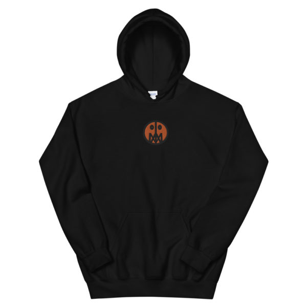 Orange MSTR Face (Embroidered Stitched)  Hoodie 4