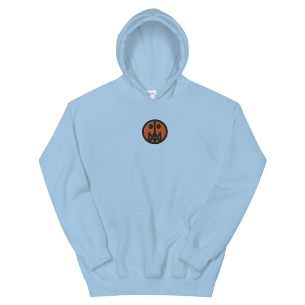 Orange MSTR Face (Embroidered Stitched)  Hoodie 1