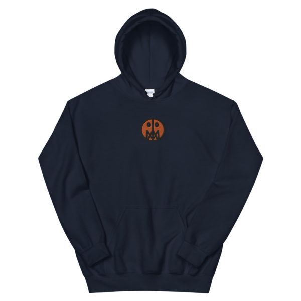 Orange MSTR Face (Embroidered Stitched)  Hoodie 6
