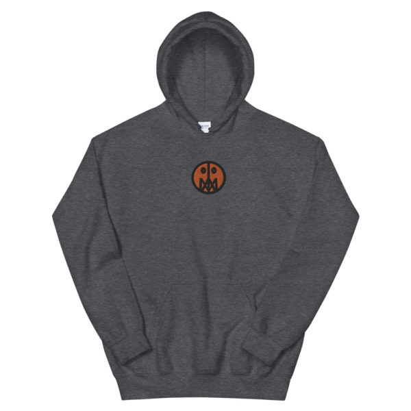 Orange MSTR Face (Embroidered Stitched)  Hoodie 5