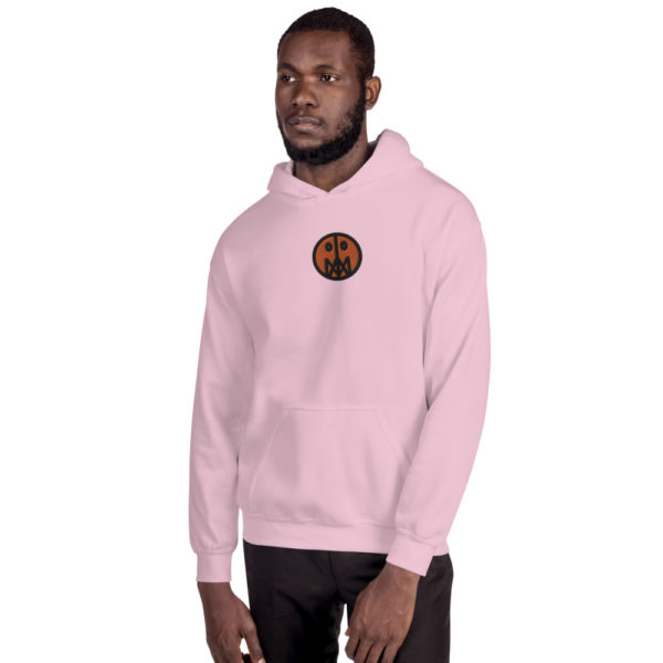 Orange MSTR Face (Embroidered Stitched)  Hoodie 2