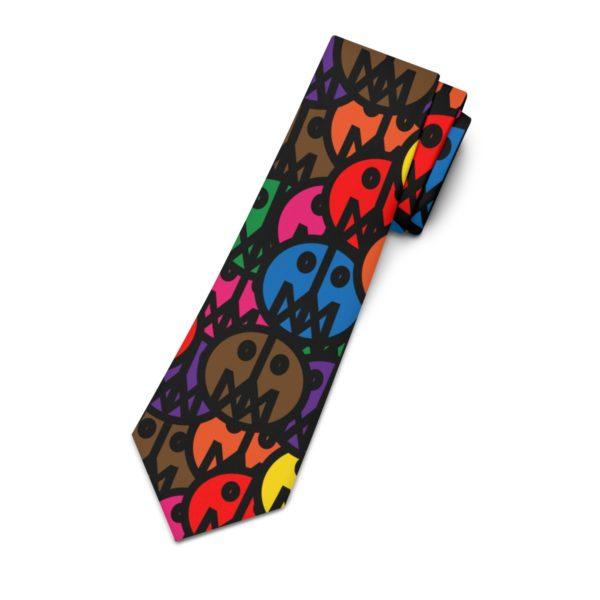 Necktie W/ MSTR Faces 5
