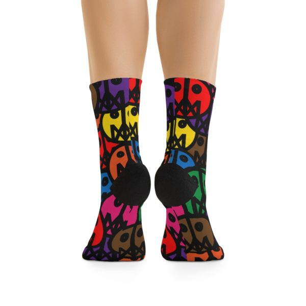 MSTR Faces (Socks) 3