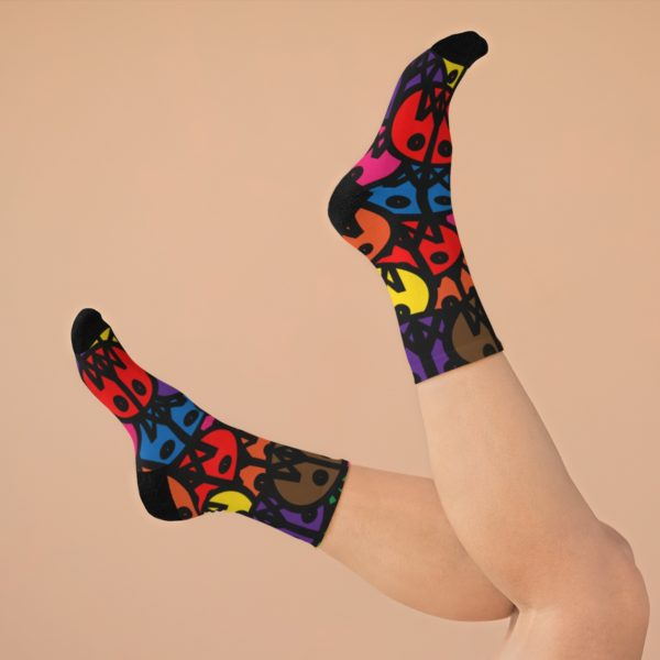 MSTR Faces (Socks) 8