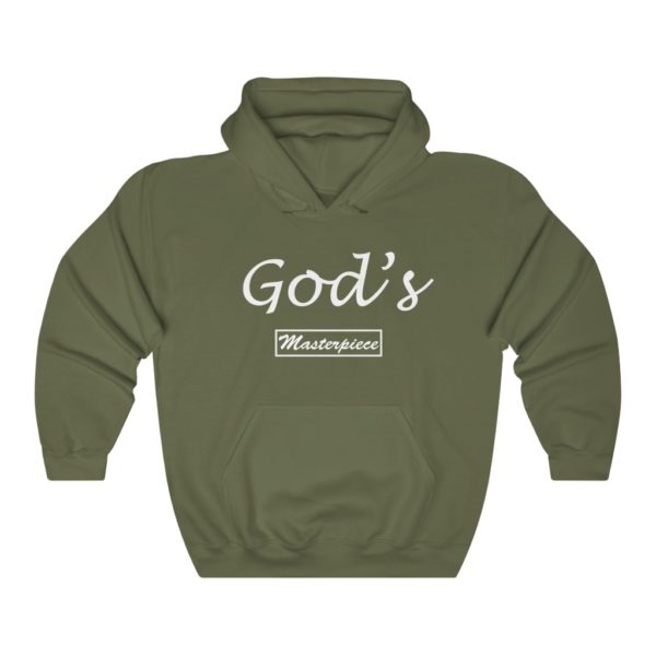 God's Masterpiece (Hooded Sweatshirt) 6