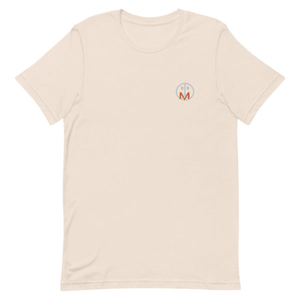 MSTR Face Stitched Tee (White/Orange) 4