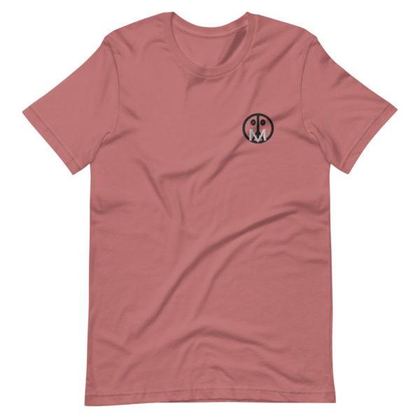 MSTR Face (Mauve) Stitched T-Shirt 1