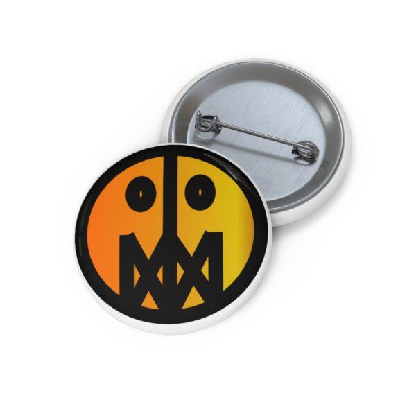 "MSTR Face ""Warm"" Pin 2"