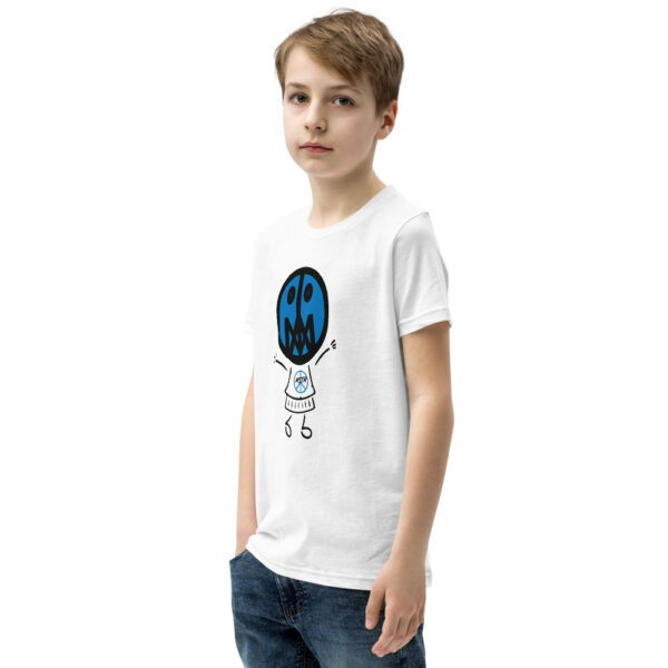 Lil Master, Blu (Unisex Youth T-Shirt) 3