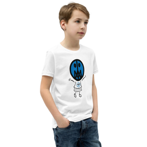 Lil Master, Blu (Unisex Youth T-Shirt) 2