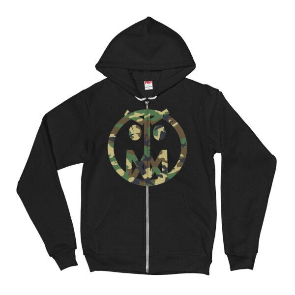 Camo MSTR Face (Hoodie sweater) 1