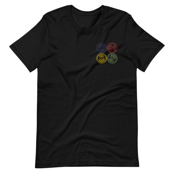 Four Corners Embroidered T-Shirt 2