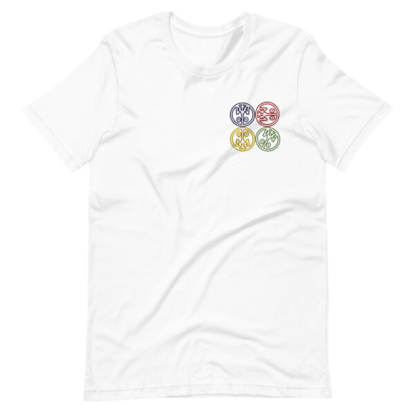 Four Corners Embroidered T-Shirt 5